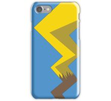 Minimalist Pikachu Tail iPhone Case/Skin
