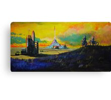 Rocket Base Canvas Print