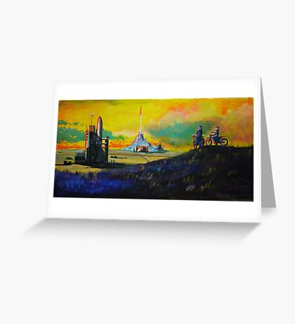 Rocket Base Greeting Card