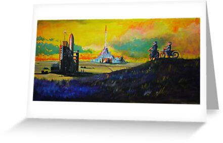 Rocket Base by C.J. Jackson
