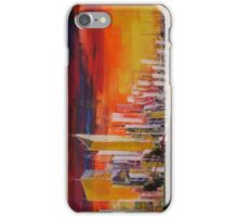 Ride to the city iPhone Case/Skin