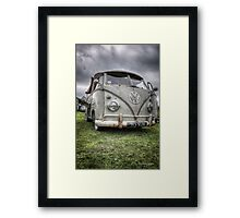 VW Split Screen Pick Up Framed Print