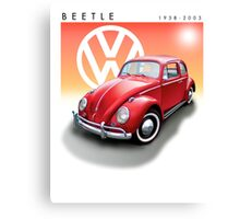 VW Beetle Bug Canvas Print