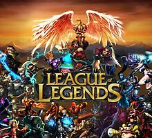 League of Legends all champs by blabadede