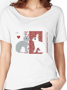 Somebunny Loves You Women's Relaxed Fit T-Shirt
