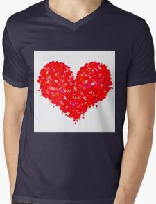 Happy Valentine's Day Mens V-Neck T-Shirt
