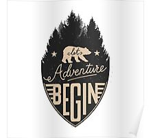 Let Adventure Begin Poster