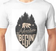 Let Adventure Begin Unisex T-Shirt