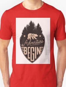 Let Adventure Begin T-Shirt