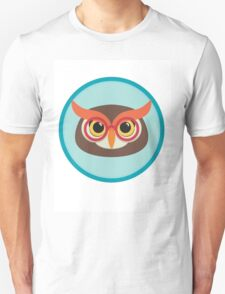 owl head with glasses T-Shirt
