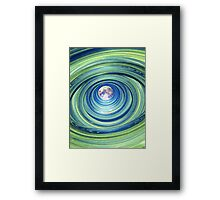 Moon Lights Framed Print