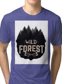 Wild Forest Tri-blend T-Shirt