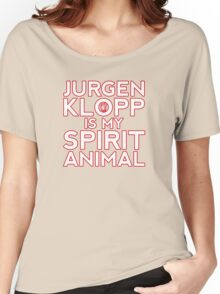 Jurgen Klopp is my spirit animal. Women's Relaxed Fit T-Shirt