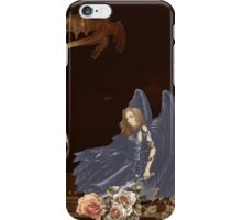 The Lady and the Dragon Slayer iPhone Case/Skin