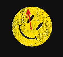 Watchmen Smiley Womens Fitted T-Shirt