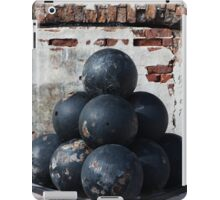 Cannon Balls iPad Case/Skin