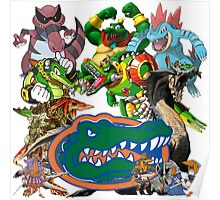 University of Florida Gator Gamer Shirt Poster