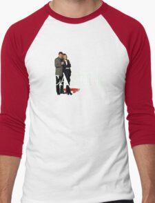 Castle and Beckett Men's Baseball ¾ T-Shirt