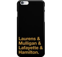 Hamilton Names iPhone Case/Skin