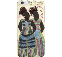 Following in your Footsteps iPhone Case/Skin
