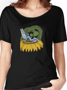 fairy sitting on flower Women's Relaxed Fit T-Shirt
