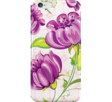 Lovely Purple Flowers iPhone Case/Skin
