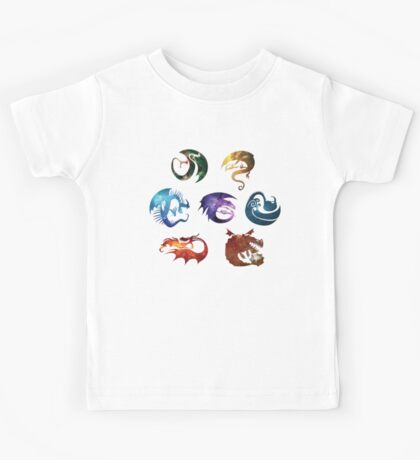 Dragon Classes - Galaxy Kids Tee
