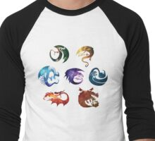 Dragon Classes - Galaxy Men's Baseball ¾ T-Shirt