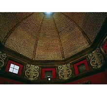 Roof of Medici room, Uffizi Museum Florence Italy 19840713 0020  Photographic Print
