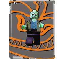 The pumpkin monster is coming!!! iPad Case/Skin