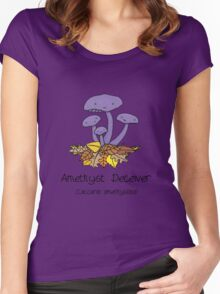 Amethyst deceiver Women's Fitted Scoop T-Shirt