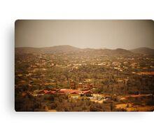 Aruban Landscape Canvas Print