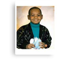 LeBron James (Kid) Canvas Print