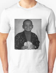LeBron James (Kid BW) Unisex T-Shirt
