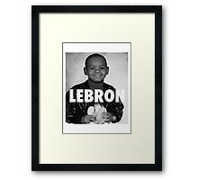 Lebron James (LeBron) Framed Print