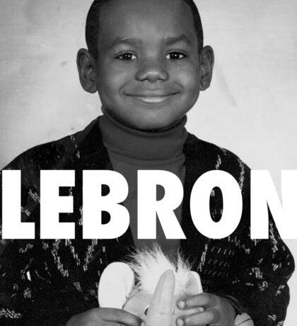Lebron James (LeBron) Sticker