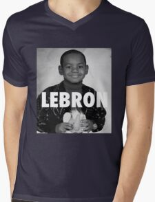 Lebron James (LeBron) Mens V-Neck T-Shirt