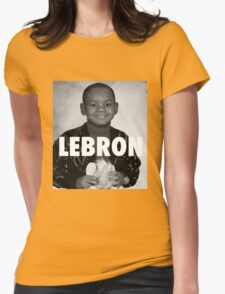 Lebron James (LeBron) Womens Fitted T-Shirt