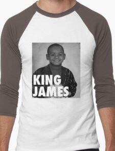 Lebron James (KING JAMES) Men's Baseball ¾ T-Shirt