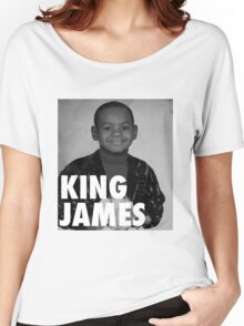 Lebron James (KING JAMES) Women's Relaxed Fit T-Shirt