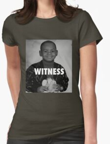 LeBron James (Witness) Womens Fitted T-Shirt