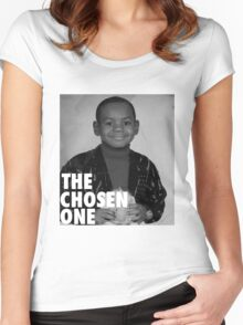 LeBron James (The Chosen One) Women's Fitted Scoop T-Shirt