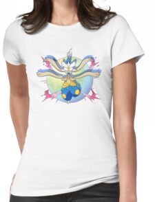 Shiny Mega Medicham Womens Fitted T-Shirt