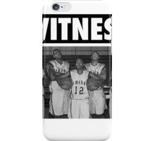 LeBron James (High School Witness) iPhone Case/Skin