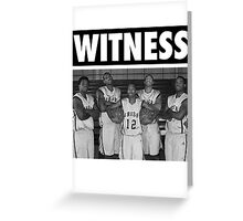 LeBron James (High School Witness) Greeting Card
