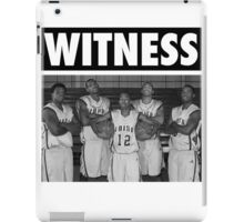 LeBron James (High School Witness) iPad Case/Skin