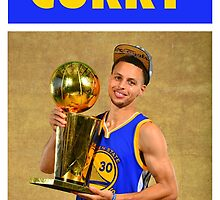 Stephen Curry (Championship Trophy) by iixwyed