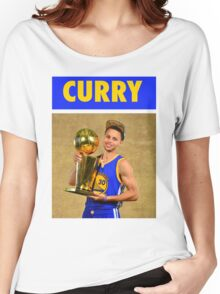 Stephen Curry (Championship Trophy) Women's Relaxed Fit T-Shirt