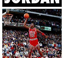 Michael Jordan (Dunk) by iixwyed