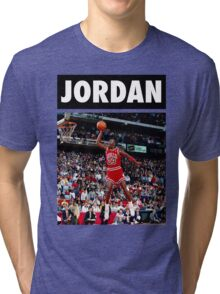 Michael Jordan (Dunk) Tri-blend T-Shirt